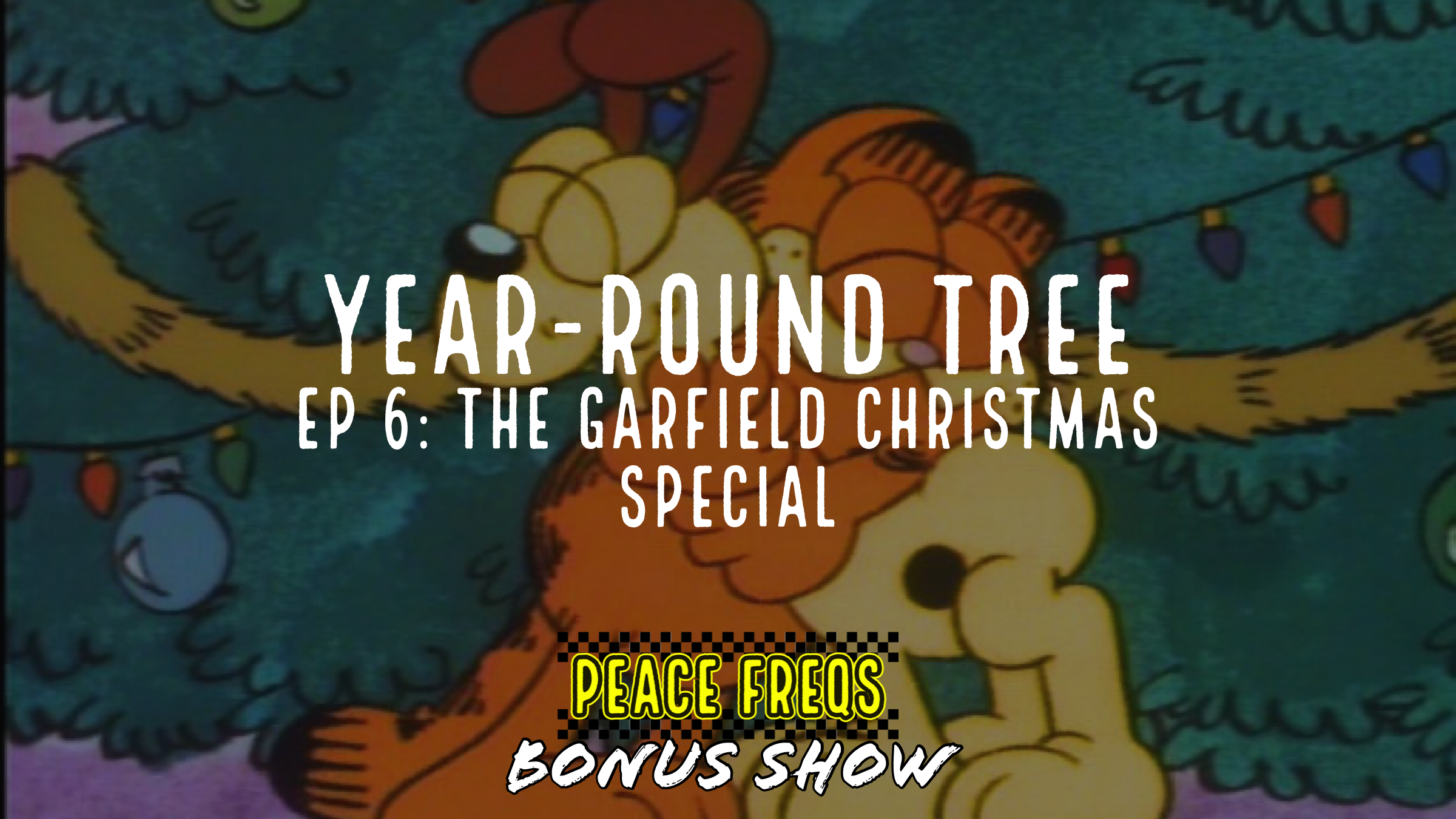 The Garfield Christmas Special Review – Year-Round Tree 006