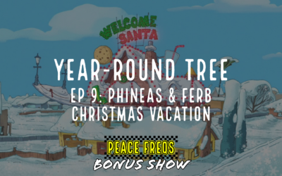 Phineas & Ferb Christmas Vacation Review – Year-Round Tree 009