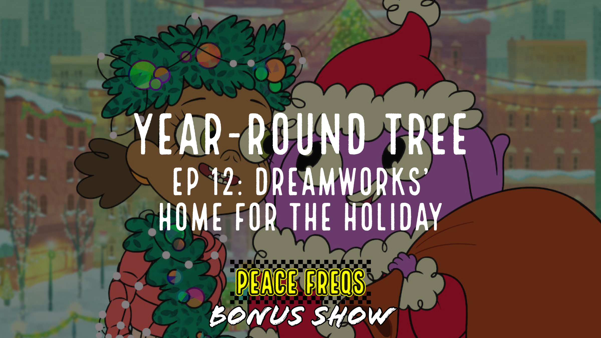 Dreamworks' Home: For The Holiday Review – Year-Round Tree 012