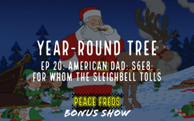 For Whom The Sleighbell Tolls Review (American Dad Episode) – Year-Round Tree 020