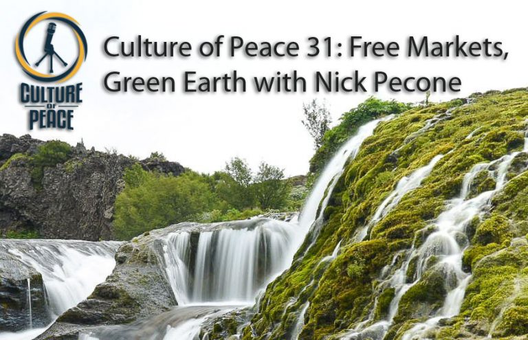 Culture Of Peace 31 Free Markets Green Earth  Title Card