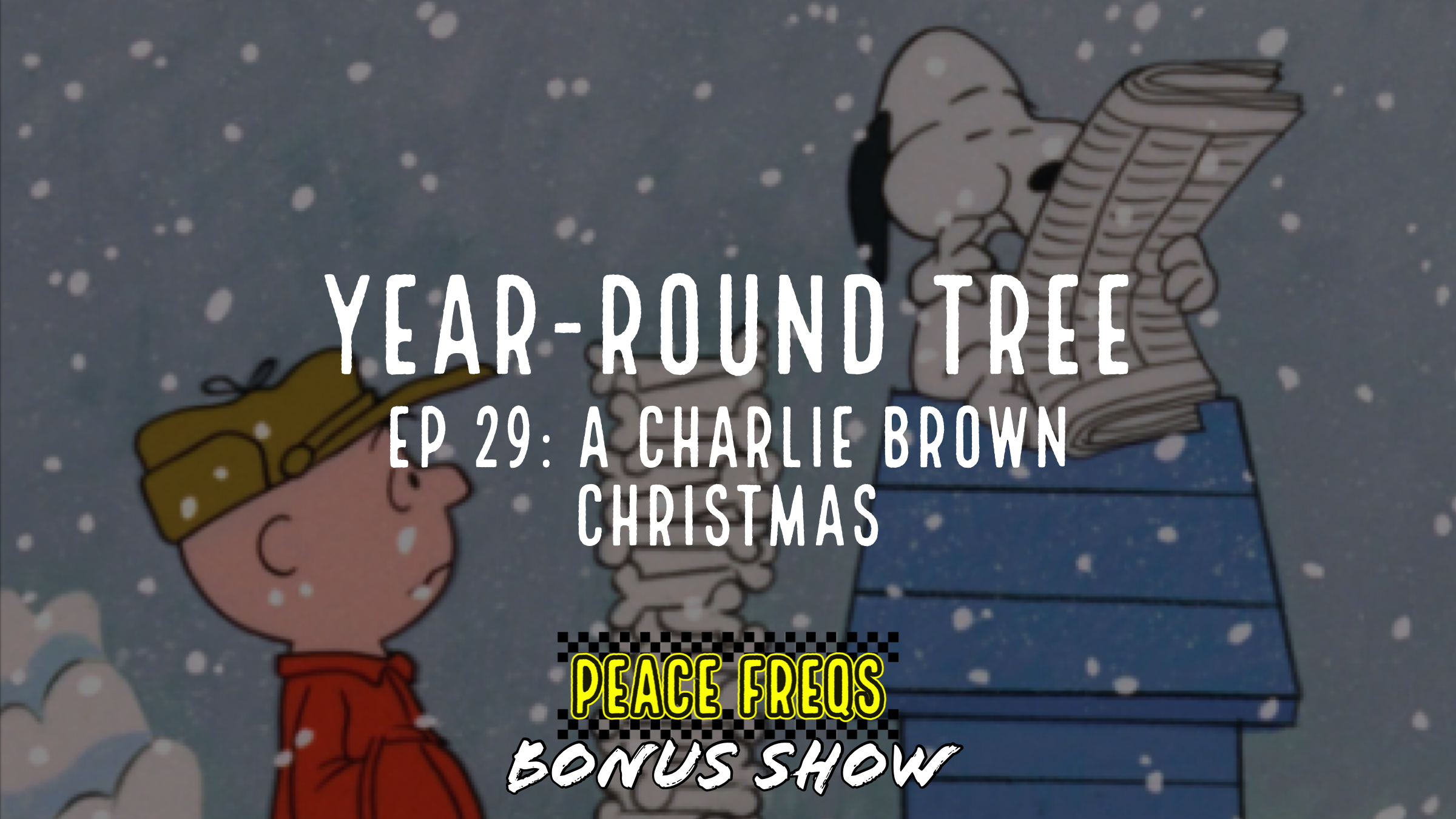 A Charlie Brown Christmas Review - Year-Round Tree 029 Title Card