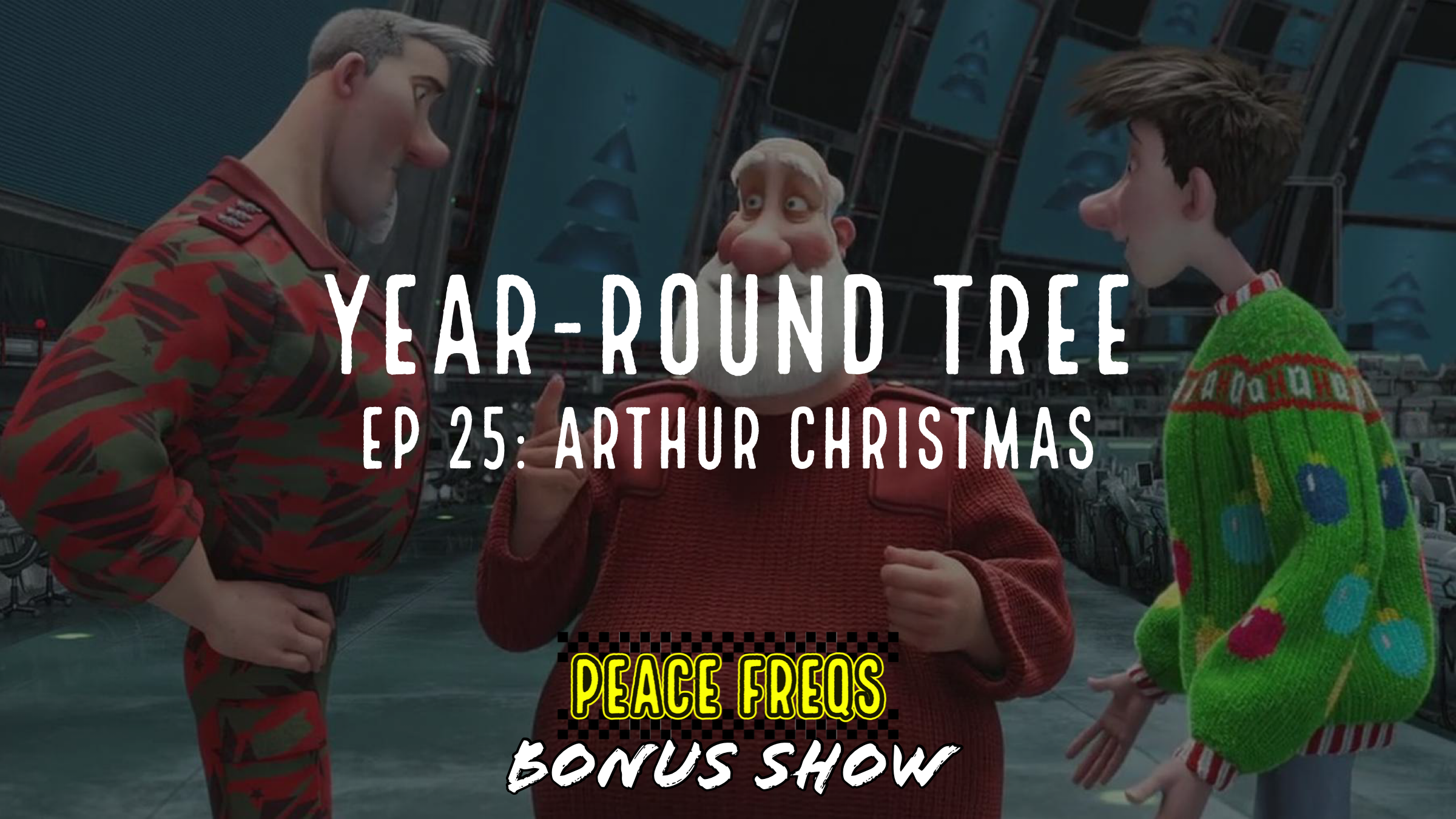 Arthur Christmas Review – Year-Round Tree 025